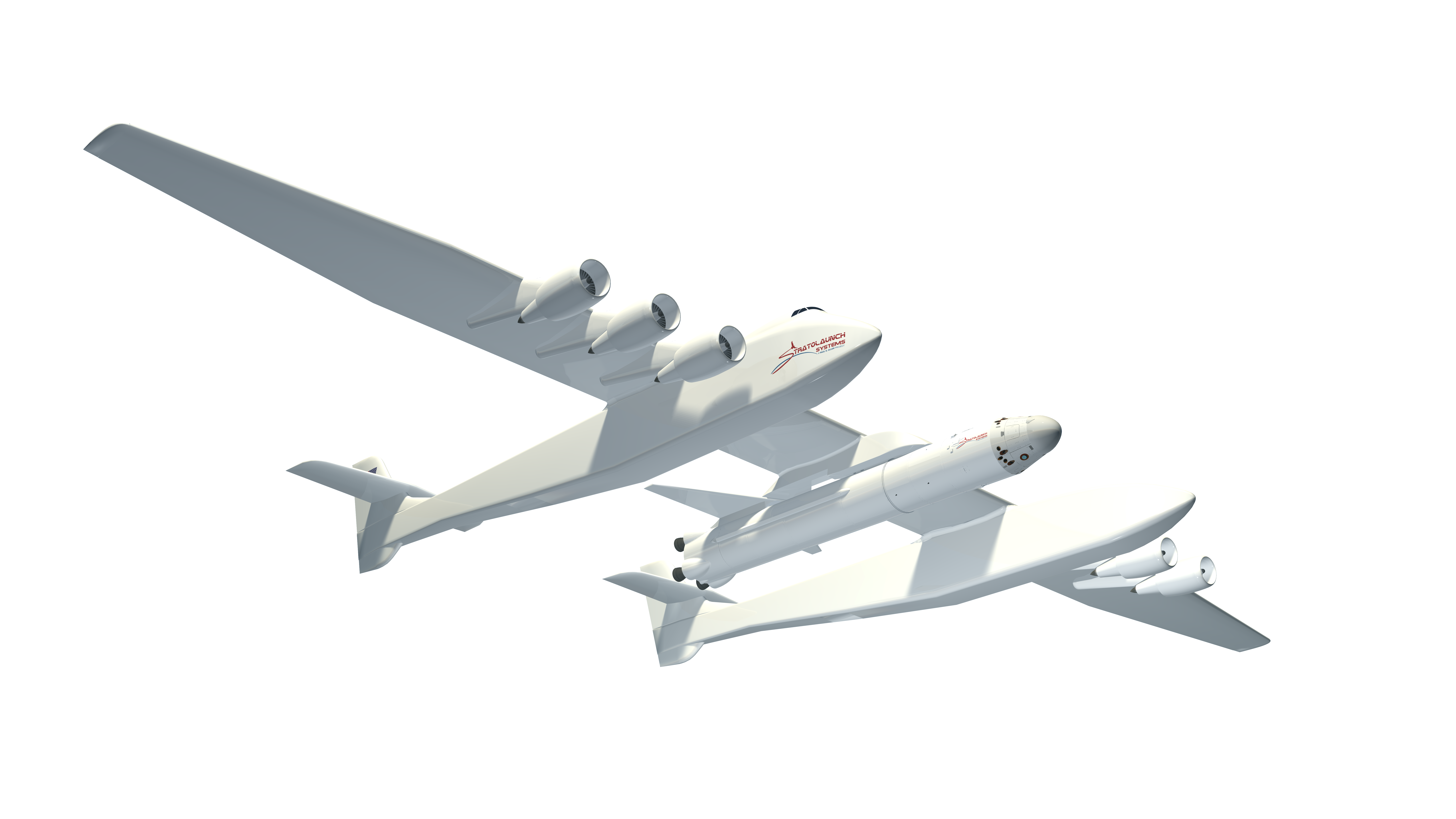 Stratolaunch: world's biggest airplane to launch spaceships