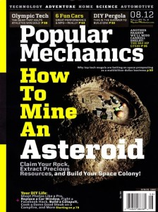 August 2012 issue of Popular Mechanics