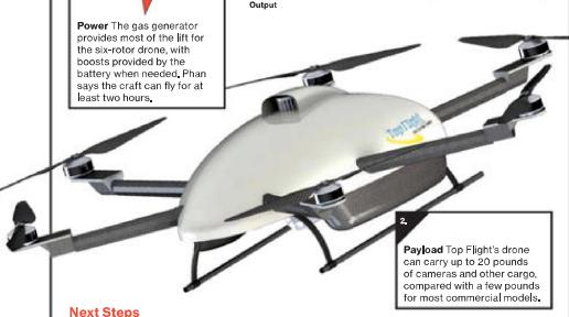 Businessweek: hybrid drones