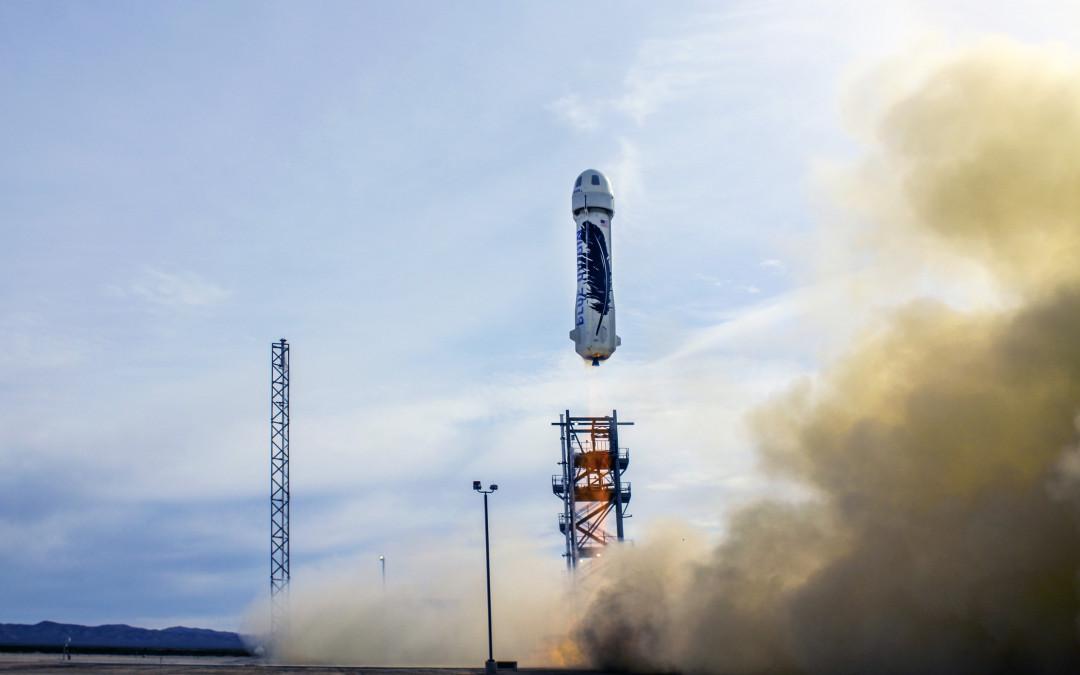 Blue Origin reaches space in a reusable vehicle