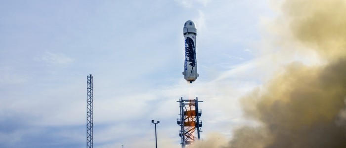 Blue Origin reaches space in a reusable vehicle