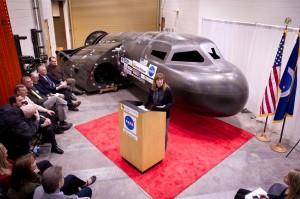 NASA Deputy Administrator Lori Garver Tours Dream Chaser