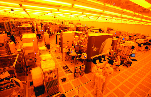 Cleanroom at SUNY Albany's NanoTech Complex