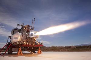 XCOR Lynx main engine test