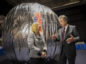 NASA's Lori Garver and Robert Bigelow