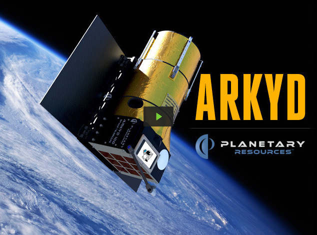 Planetary Resources on Kickstarter