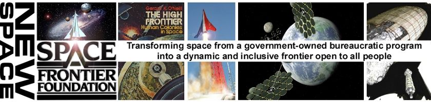 Space Frontier Foundation banner