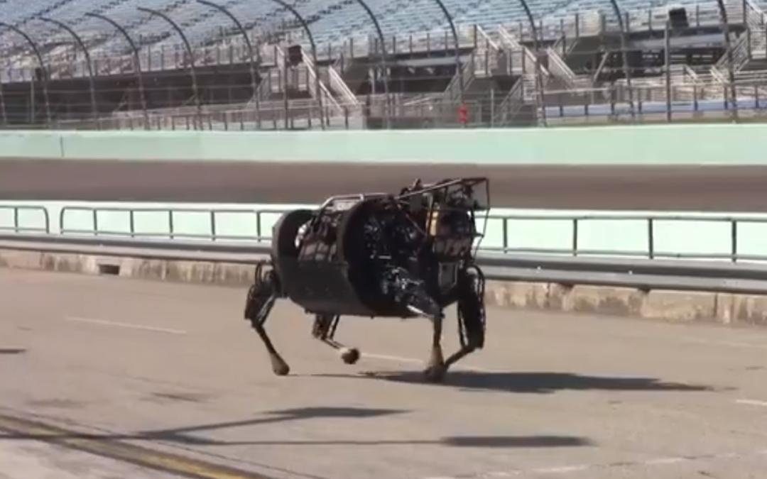 Boston Dynamics LS3 robot.