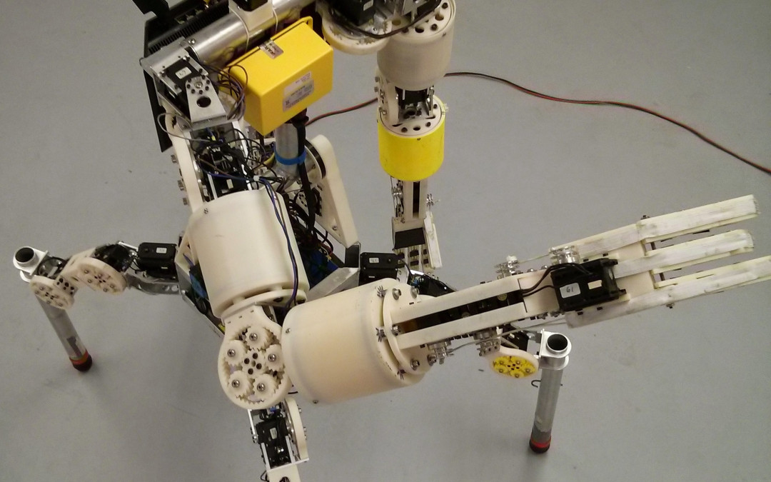 Team Grit's DARPA Robotics Challenge robot