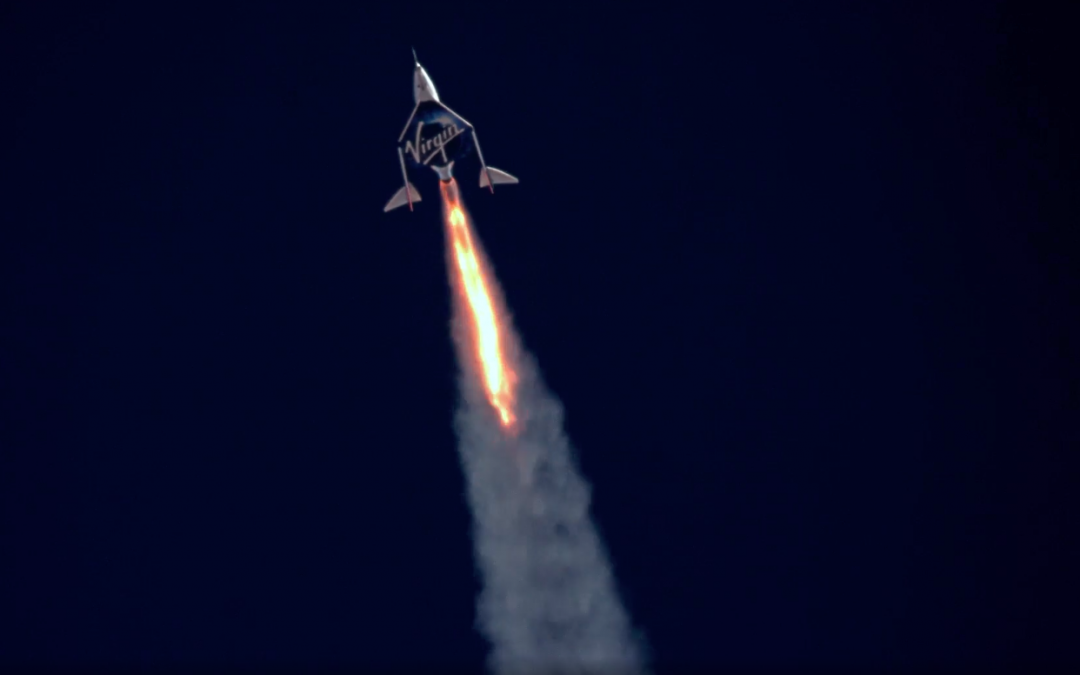 Richard Branson's Space Flight: 90 Minutes and 17 Years in the Making
